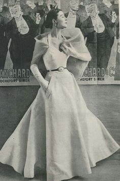 Schiaparelli, Vogue Pattern 1951