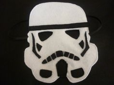 STAR WARS felt Stormtrooper mask for dressing up/costume/fancy dress