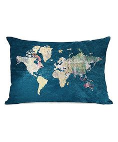 Where to Next Rectangular Throw Pillow | zulily