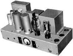 retro vintage modern hi-fi: Min's Tube Audio Lab Specializing in Western Electric 91A