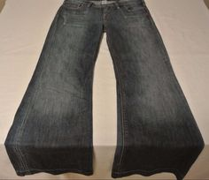 """Silver Jeans Western Glove Works """"SARAH"""" Women's Low Rise Jeans Size 28 32 NICE #SilverJeans #Flare"""