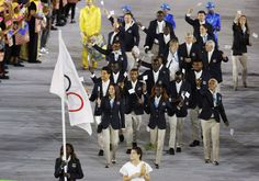 10 members of the first ever Refugee Olympic Team