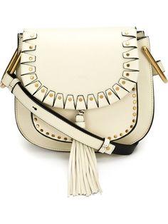 Chloe \u0026#39;Small Hudson\u0026#39; Suede Tassels Leather Shoulder Bag | Leather ...