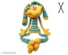 137 Knitting Pattern Rabbit Dude Keks Amigurumi soft toy