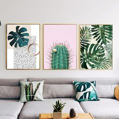 Decorate your house with these tropical canvas prints. You can easy match them with almost everyting in your room like other plants or pillow cases. Available in different sizes. Sala Tropical, Tropical Home Decor, Tropical Interior, Tropical Houses, Tropical Colors, Tropical Furniture, Tropical Bedrooms, Plafond Design, Aesthetic Room Decor