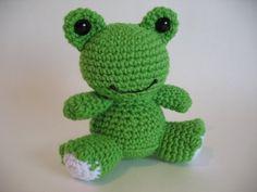 Toy Frog - Crochet