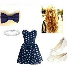 Imagem de dress, shoes, and blue