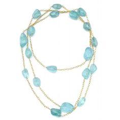 Seaside Aquamarine - #Aquamarine nuggets