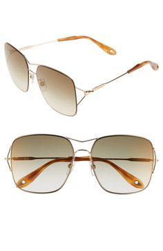 Main Image - Givenchy 58mm Oversized Sunglasses
