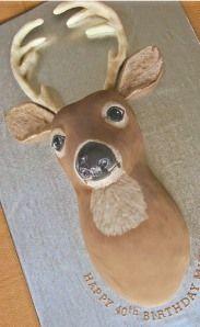 Deer head!!