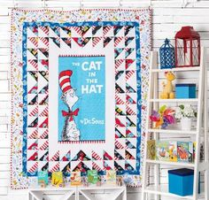 Bring a cherished childhood story to life with this colorful Celebrate Suess #5 Quilt Kit. You'll receive a pattern as well as Robert Kaufman fabric to make a kid's quilt that's the perfect additio...
