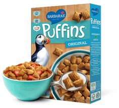 Puffins Original- a great alternative to #cornpops! #wholewheat #cereal