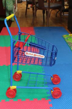 Shopping #cart for your little shopper! #toy #kids