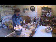 Boule en poterie - YouTube