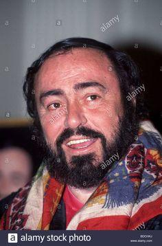 Pavarotti during visit in Munich, January Opera Singers, Munich, Stock Photos, Portrait, Vectors, Illustrations, January, King, House