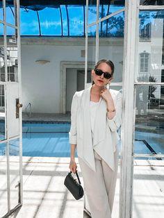White look Instagram: @LauraKobels Creative Director: Laura Kobels