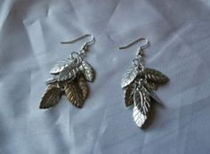 10-Minute Leaf Earring Tutorial | AllFreeJewelryMaking.com
