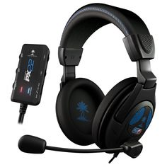 Turtle Beach Ear Force PX22, Wired Gaming Headset, Unidirectional Microphone, Black