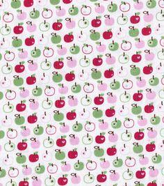 Keepsake Calico Fabric- Geo Fiore Circle Floral & Dot Brown Red ... : joann quilting fabric - Adamdwight.com
