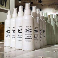 Our denim refresh, a formula that refreshes and removes unwanted odours and stains from garments ✂️💙💦 @denhamthejeanmaker @denham_uk @denham_japan @denham_germany @denham_belgium @denham_australia #denhamthejeanmaker #denham #denhamuk #denim #refresh #clean #protect #premium #quality #instapic #instadaily #instamood #instafashion #fashion #fb #fblogger #leeds #shopping #retails #briggate