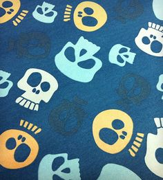 Skulls Wrapping Paper