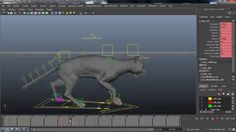 Quadrupede Walk Cycle Tutorial Animation Mentor, 3d Character Animation, Animation Reference, 3d Animation, Animal Movement, Animation Programs, Animation Tutorial, 3d Tutorial, Anime Cat