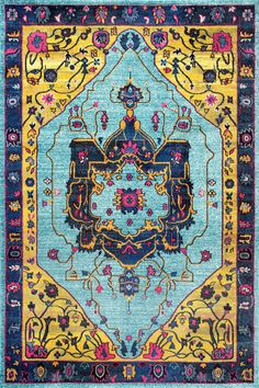 nuLOOM - Nuloom Vintage Janella Multi Area Rug #165783
