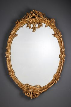 Lokakuu: 366 Small Mirrors, Antique Mirrors, Diy Wall Decor For Bedroom, Mirror Painting, Diy Mirror, Antiques, Clocks, Gold, Beautiful