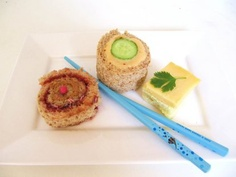 sushi sandwhich