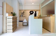 Stretch Yoga Studio — Furniss & May Plywood, Stretching, Hospitality, Signage, Reception, Loft, Retail, Studio, Bed