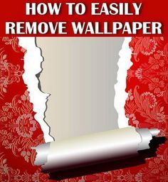 Are You Going To Be Removing Wallpaper And Want The Fastest Way Here Some Of Easiest Ways Remove Yourself Whether Your Is