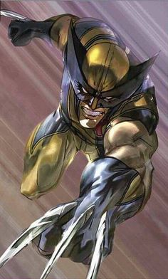 """Because you thought you were stronger than the Hulk? No one is stronger than the Hulk! Wolverine Comics, Marvel Comics, Comics Anime, Marvel Comic Universe, Comics Universe, Marvel Heroes, Wolverine Images, Marvel Avengers, Marvel Comic Character"