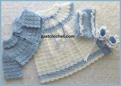 Ravelry: Baby Crochet Pattern JC90C pattern by Justcrochet Designs