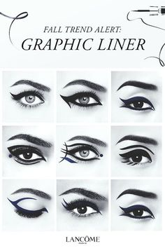 From a classic cat eye to a more artistic look, with Grandiôse Liner the possibilities are as endless as your imagination. Check out lancome-usa.com and let yours run wild.
