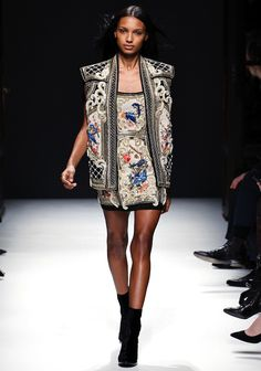 Corinna B's World: Balmain Autumn 2012, Paris Fashion Week