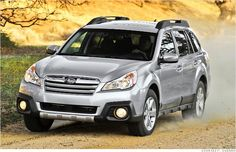 Phasmid Rentals only rents brand new Subaru Outback and Suburbans