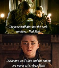 Leave one wolf alive and the sheep are never safe. Game of Thrones. Leave one wolf alive and the sheep are never safe. Game of Thrones. … Leave one wolf alive and the sheep are never safe. Game of Thrones. Arya Stark, Game Of Throne Lustig, Game Of Thrones Wallpaper, Serie Got, Got Merchandise, Game Of Thrones Meme, Game Of Thrones Tattoo, Got Quotes Game Of Thrones, Game Of Thrones Instagram