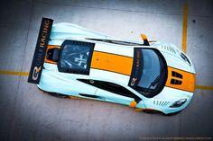 McLaren MP4-12C GT3 Gulf Striped