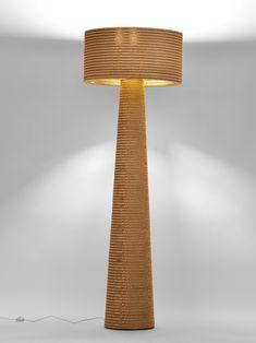 lamp designrulz 12 Decora con muebles de cartón reciclado