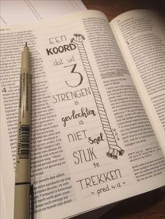 Bijschrijfbijbel trouwtekst