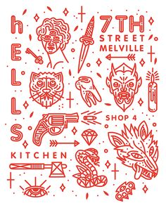 HELLS KITCHEN on Behance