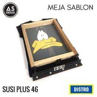 MEJA SABLON SUPER PRESISI PLUS 46 (JASA SUSI PLUS 46)