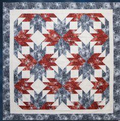Maple Leaf Flurries Quilt Kit Designed by Judy Niemeyer