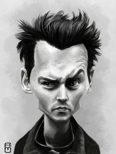 ArtStation - Johnny Depp , Fernando Mendez C
