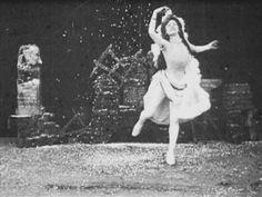 """From Alice Guy's """"Danse des saisons: L'Hiver, danse de la neige"""" (1900)."""
