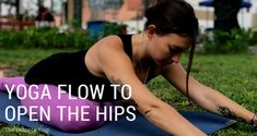 This yoga flow is designed to gently open tightness in the hips, while releasing pain in the lower back. Print out the PDF to do it at home.