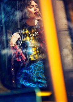 celia grazia shoot3 Celia Becker is a Stranger in Paris for Grazia Germany Spread
