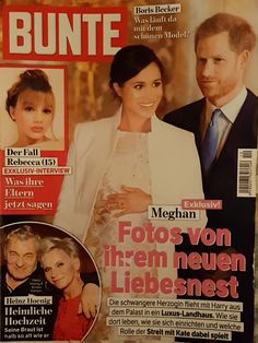 2019: Harry und Meghan von Sussex Royals Today, Interview, Movie Posters, Movies, Magazines, Nice Asses, Film Poster, Films, Movie