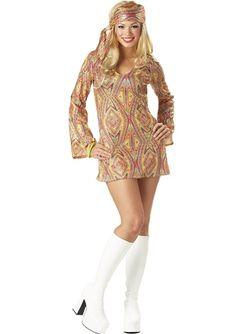 Disco Dolly Women 70s Costume Disco Costume For Women 33c5a21e38c