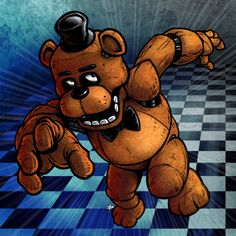 freddy fazbear | Drawing freddy fazbear, five nights at freddys, Added by KingTutorial ...